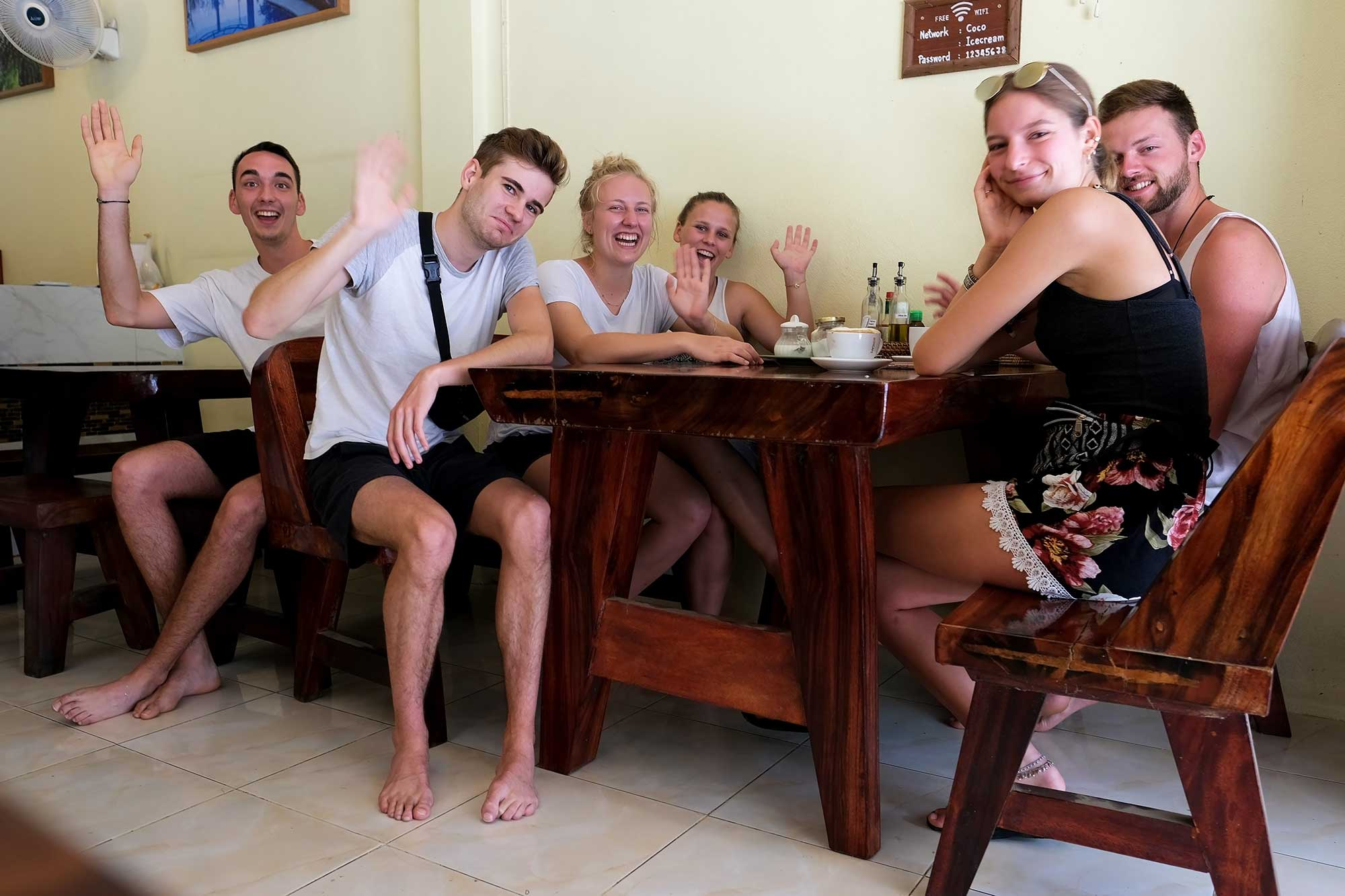 Coco Khao Sok hostel group